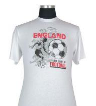T-shirt à Manches Courtes  Blanc du 2XL au 8XL Cotton Valley