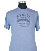 T-Shirt à Manches Courtes  Bleu du 2XL au 5XL Kangol
