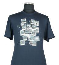 T-shirt à Manches Courtes  Bleu Marine du 2XL au 8XL Cotton Valley