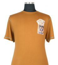T-shirt à Manches Courtes  Brun Orangé du 2XL au 8XL Cotton Valley