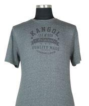T-Shirt à Manches Courtes  Gris du 2XL au 5XL Kangol