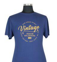 T-shirt à Manches Courtes Grande Taille Bleu du 2XL au 8XL All Size