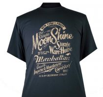 T-shirt Manches Courtes Anthracite Espionage du 2XL au 8XL