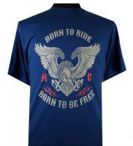 T-Shirt Manches Courtes Bleu du 2XL  au 8XL Espionage