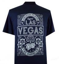 T-Shirt Manches Courtes Bleu Marine du 2XL  au 8XL Espionage