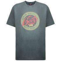 T-Shirt Manches Courtes Vert Espionage du 2XL au 8XL