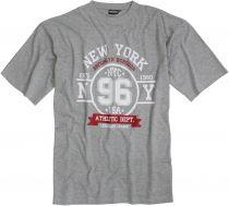 T-shirt Manches Longues Gris du 2XL au 12XL Adamo