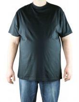 T-Shirt Noir Manches Courtes Col Rond Cotton All Size