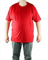 F-Kitaro 68901-404 tshirt rouge col rond-1185