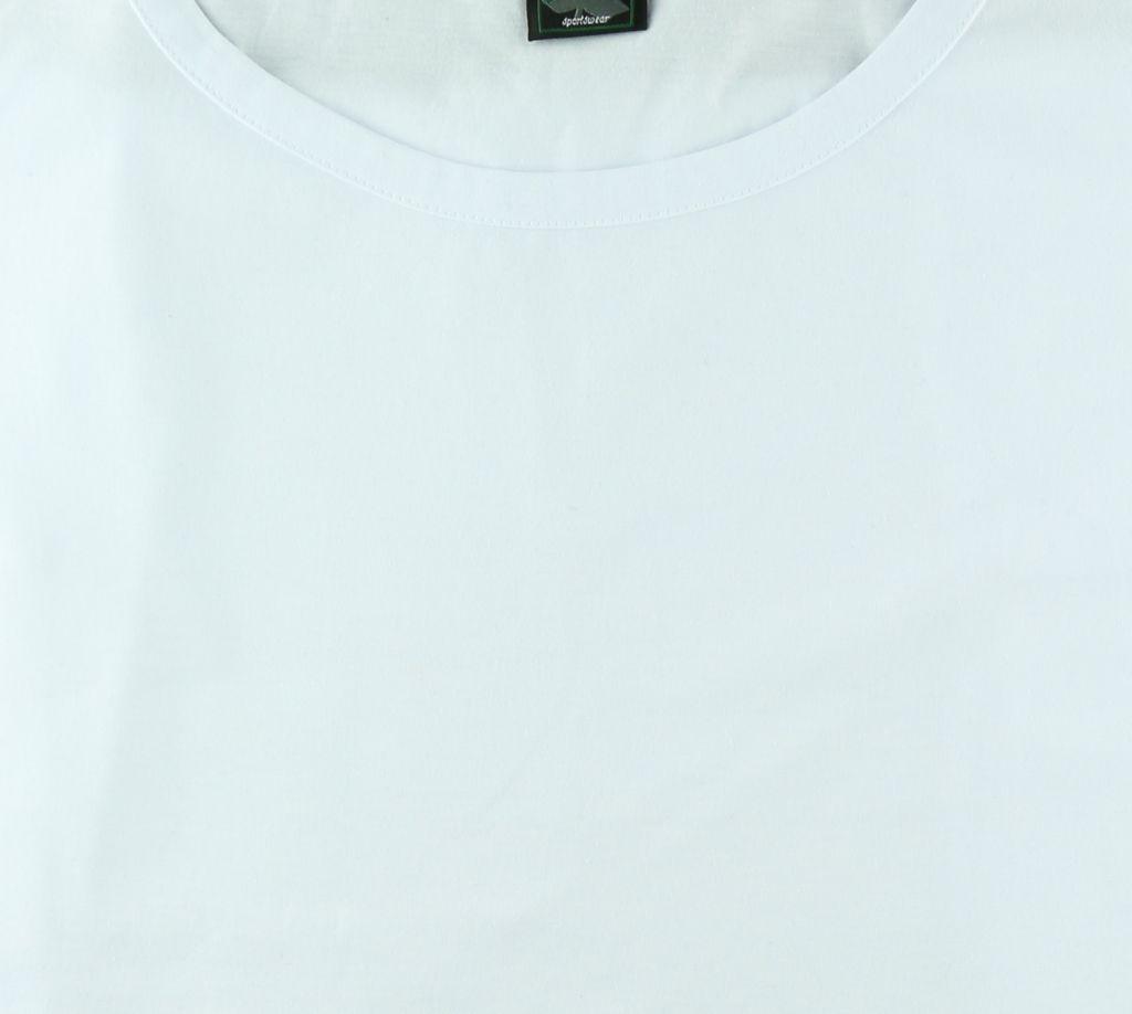 T-Shirt Sans Manches Blanc Ahorn