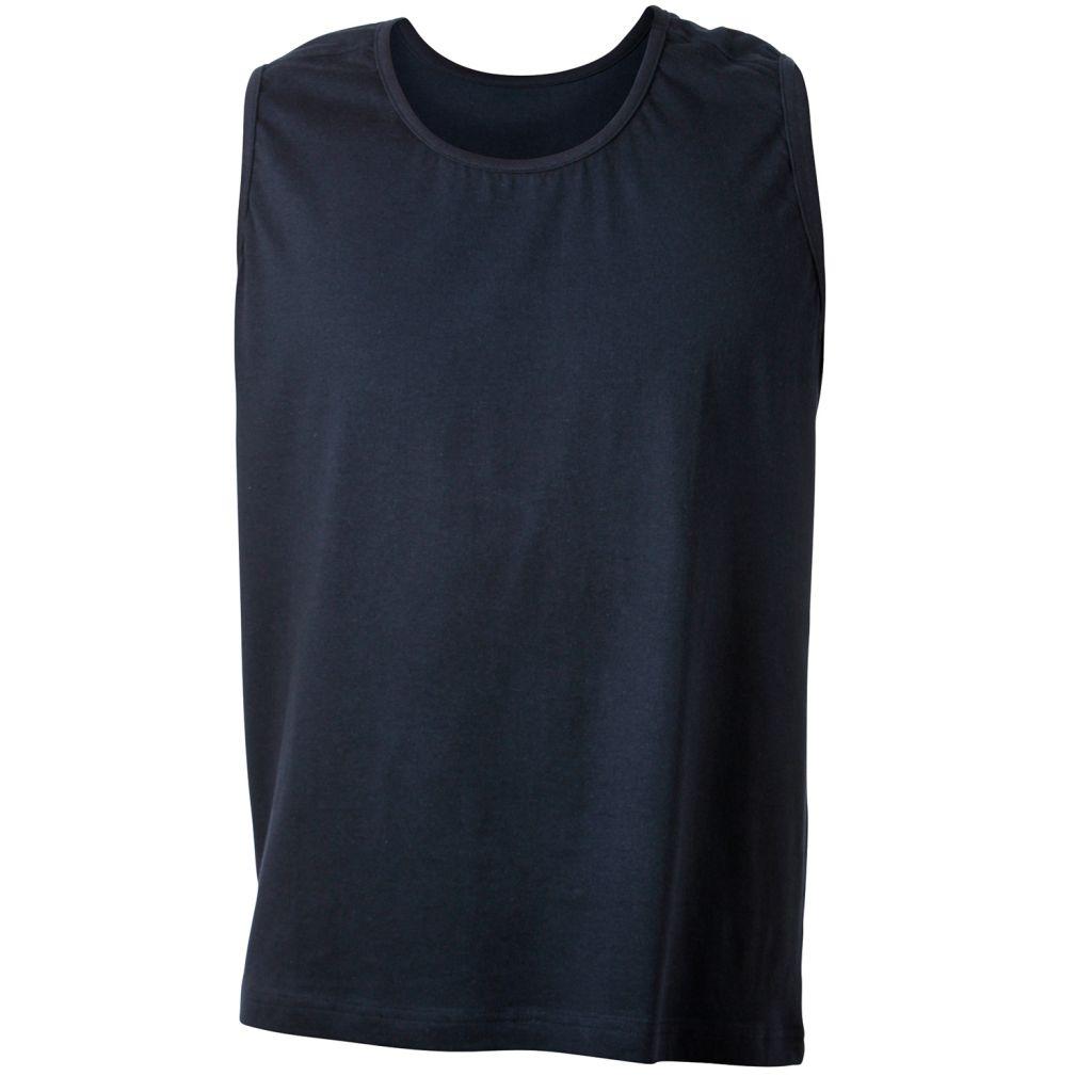 T-Shirt Sans Manches Bleu Marine ROD d\'Adamo