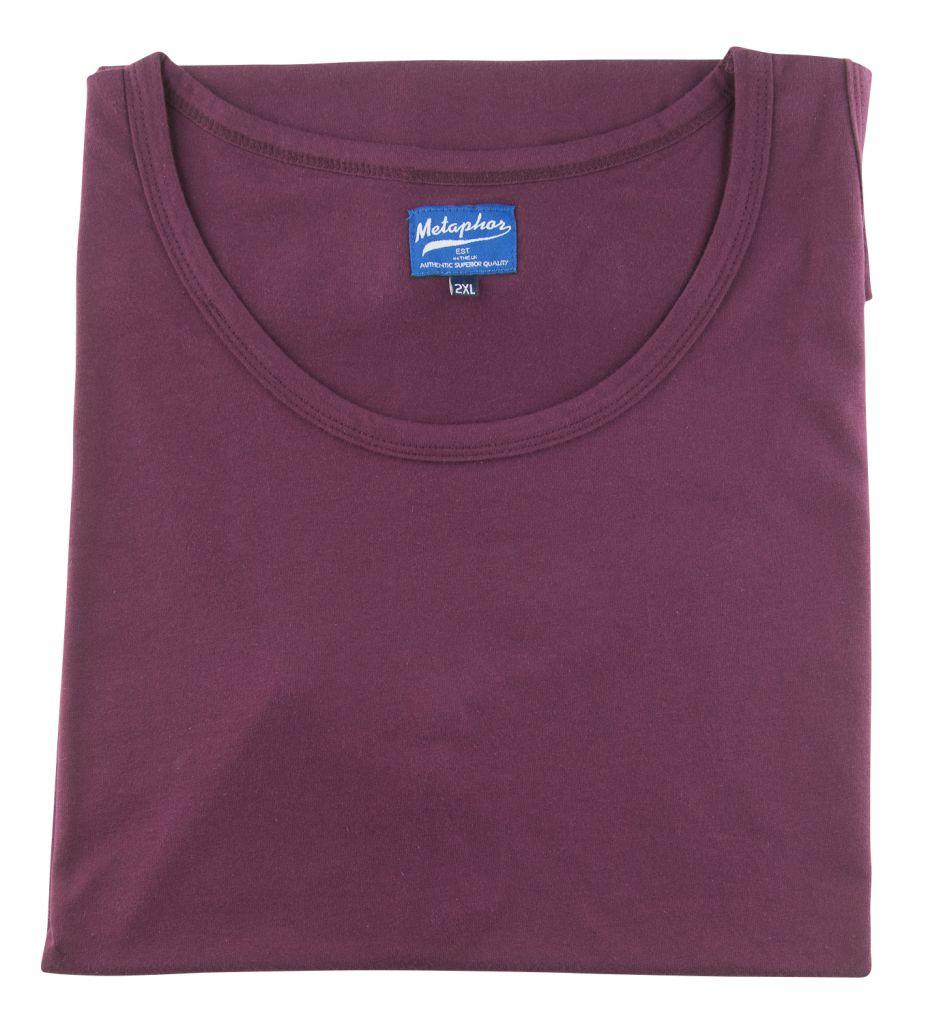 T-Shirt Sans Manches Bordeaux Cotton Valley du 2XL au 8XL