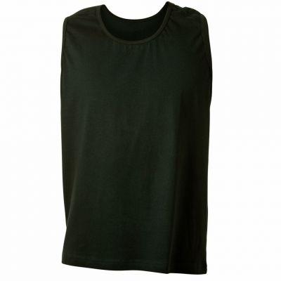 48c7ee05b0a3a T-Shirt Sans Manches Grande Taille Homme Coloris Noir ROD d'Adamo