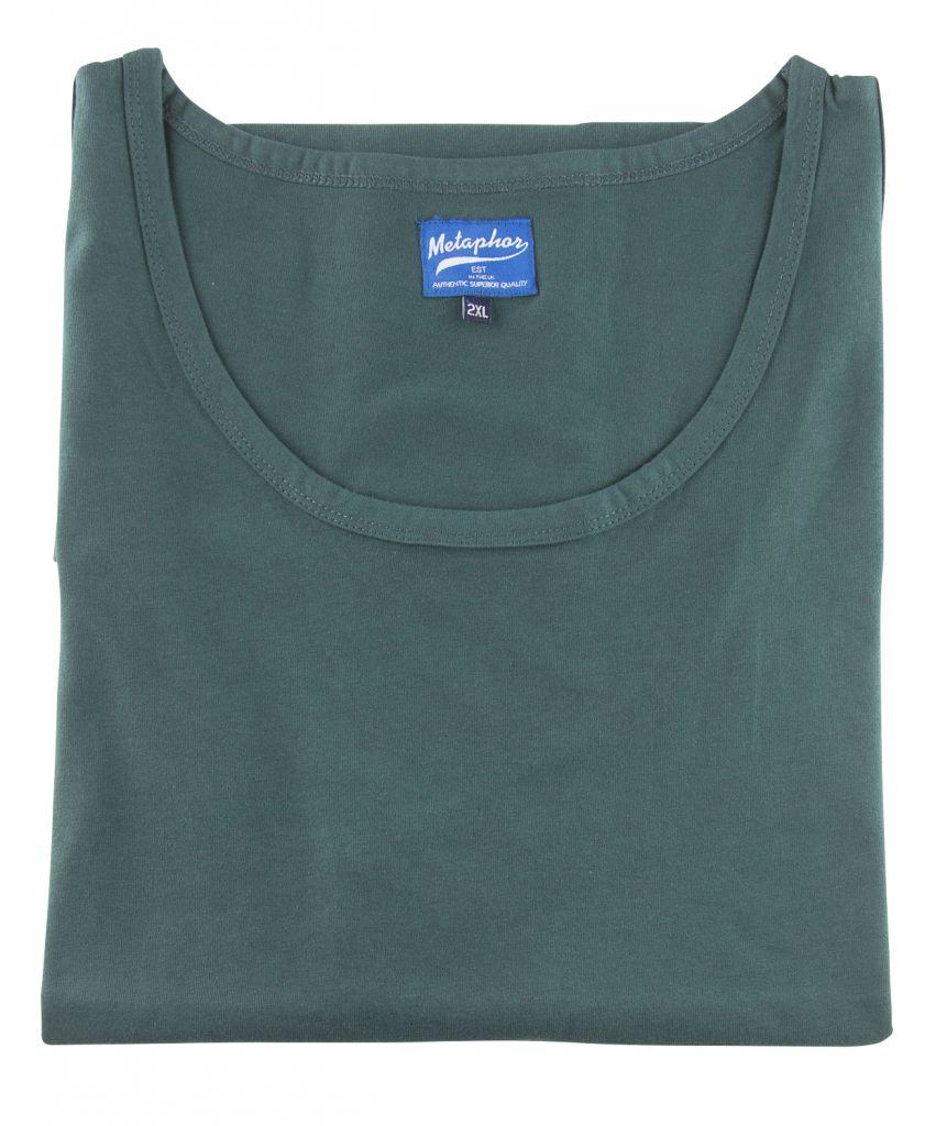 T-Shirt Sans Manches Vert Cotton Valley du 2XL au 8XL