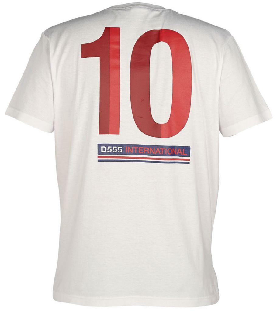 Tshirt England Manches Courtes Blanc Duke du 3XL au 6XL