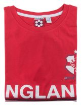 Tshirt England Manches Courtes Rouge Duke du 3XL au 6XL