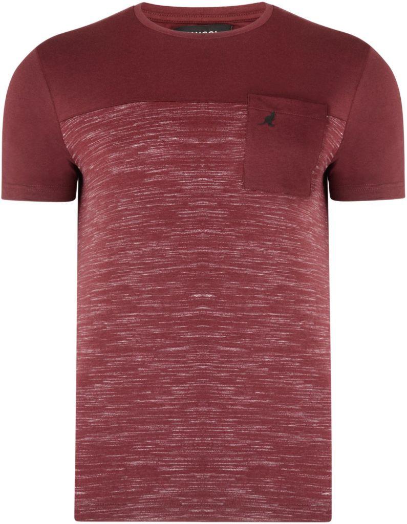 Tshirt Manches Courtes  Bordeaux du 2XL au 6XL Kangol