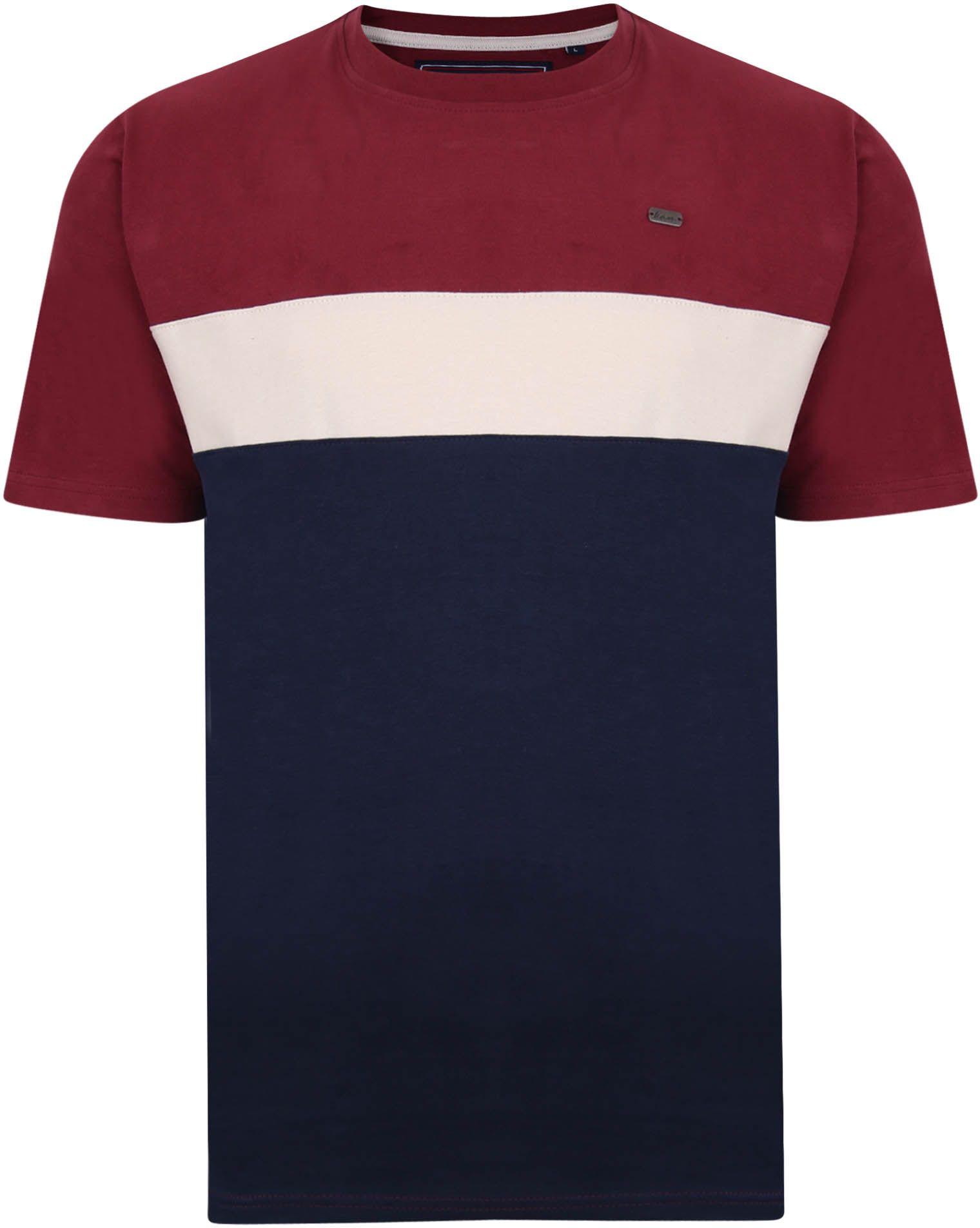 Tshirt Manches Courtes  Bordeaux Kam du 2XL au 8XL