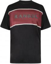 Tshirt Manches Courtes  Noir du 2XL au 6XL Kangol