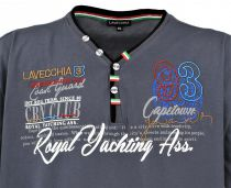Tshirt Manches Courtes Anthracite du 3XL au 8XL Lavecchia