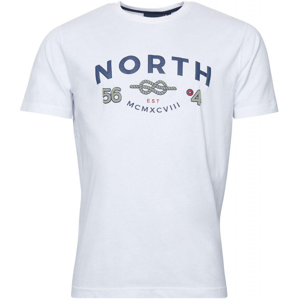 Tshirt Manches Courtes Blanc All Size du 2XL au 8XL