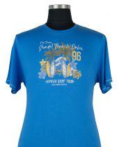 Tshirt Manches Courtes Bleu  Duke Du 3XL au 8XL