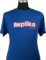 Tshirt Manches Courtes Bleu All Size du 2XL au 8XL