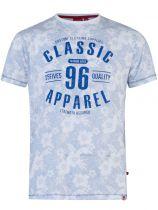 Tshirt Manches Courtes Bleu Ciel Duke Du 3XL au 6XL