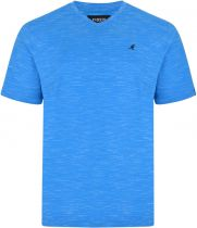 Tshirt Manches Courtes Bleu du 2XL au 6XL Kangol