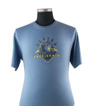 Tshirt Manches Courtes Bleu du 2XL au 8XL Cotton Valley
