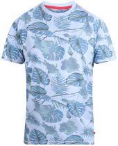 Tshirt Manches Courtes Bleu Duke Du 3XL au 6XL