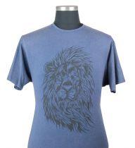 Tshirt Manches Courtes Bleu Kam du 2XL au 8XL