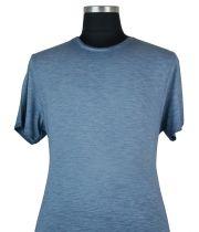 Tshirt Manches Courtes Bleu Kitaro du 2XL au 8XL