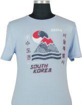Tshirt Manches Courtes Bleu Kitaro Du 3XL au 8XL