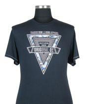 Tshirt Manches Courtes Bleu Marine 3XL à 8XL Duke