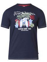 Tshirt Manches Courtes Bleu Marine Duke Du 3XL au 8XL