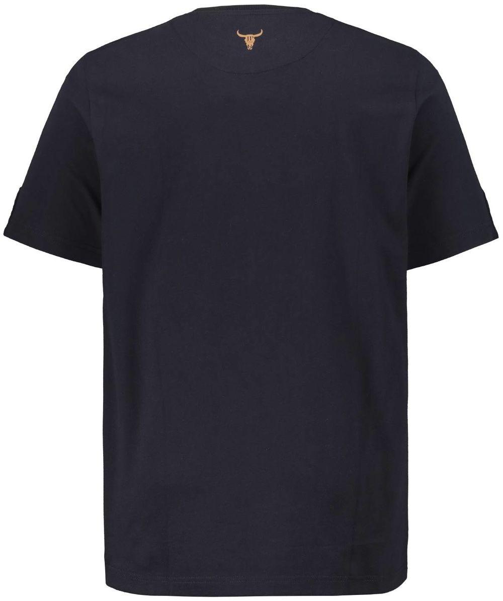 Tshirt Manches Courtes Bleu Marine JP1880 du 3XL au 7XL