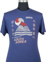 Tshirt Manches Courtes Bleu Marine Kitaro Du 3XL au 8XL