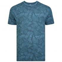 Tshirt Manches Courtes Bleu Pétrol Kam du 2XL au 8XL