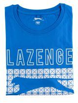 Tshirt Manches Courtes Bleu Slazenger du 2XL  au 5XL