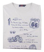 Tshirt Manches Courtes Grande Taille Beige Maxfort du 3XL au 8XL