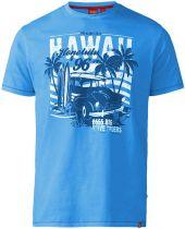 Tshirt Manches Courtes Grande Taille Bleu Duke du 3XL au 6XL