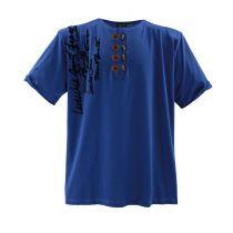 Tshirt Manches Courtes Grande Taille Bleu Lavecchia du 3XL au 8XL