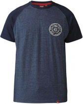 Tshirt Manches Courtes Grande Taille Bleu Marine Duke du 3XL au 6XL