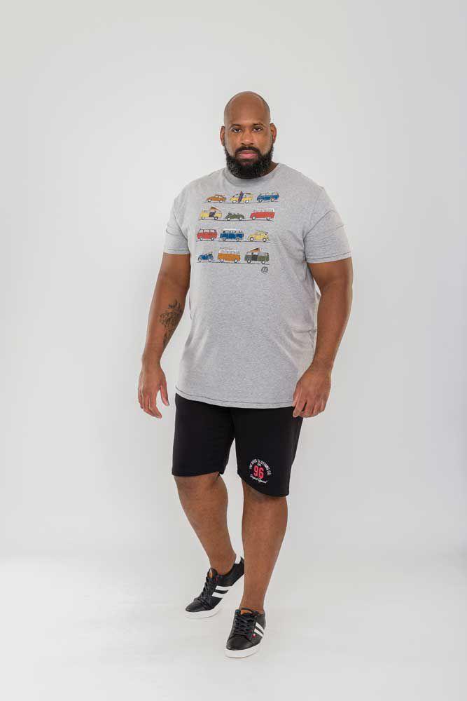 Tshirt Manches Courtes Gris Duke 3XL au 6XL