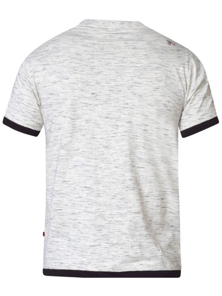 Tshirt Manches Courtes Gris Duke Du 3XL au 8XL