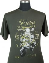 Tshirt Manches Courtes Kaki Maxfort du 3XL au 8XL