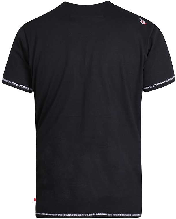 Tshirt Manches Courtes Noir Duke Du 2XL au 6XL