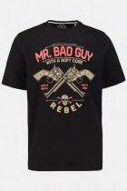 Tshirt Manches Courtes Noir JP1880 du 3XL au 7XL