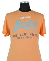 Tshirt Manches Courtes Orange Kitaro du 2XL au 8XL